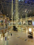 Wafi购物中心在迪拜,阿拉伯联合酋长国 库存图片