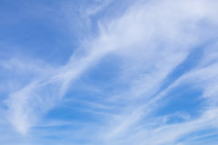 Wafting cloud in sky. Beautiful sky with wafting cloud Royalty Free Stock Images