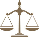 waga Symbol dla projekta royalty ilustracja