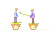waga zarządzania Ilustracja Wektor