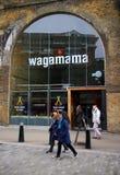 Wagamama餐馆 免版税库存照片