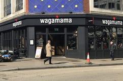 Wagamamarestaurant royalty-vrije stock afbeelding