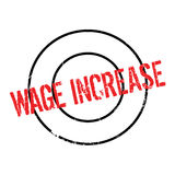 Wage Increase rubber stamp Royalty Free Stock Images
