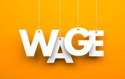 Wage Stock Photography