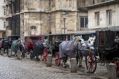 Wagen in der Stadt Lizenzfreie Stockfotos