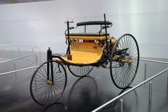 wagen för benzmotorpatent Royaltyfria Foton