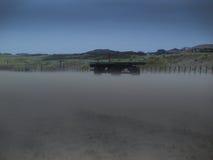 Wagen op strand Stock Afbeeldingen