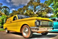 wagen van jaren '60 de klassieke Australische Ford Falcon XP stock fotografie