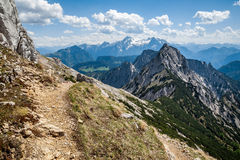 Wagendrischelhorn Mountains, Germany Royalty Free Stock Photo
