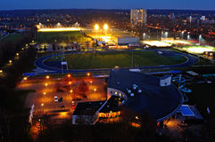 Wageningen-Stadion-Frühling Stockbilder