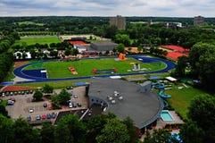 Wageningen Stadium summer. Wageningen university Stadium 4 season Summer stock images