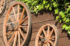 Wagenräder lizenzfreies stockfoto