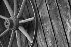 Wagenrad stockfotografie