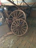 Wagenwielen Stock Afbeelding