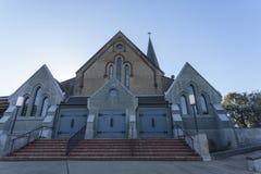 "Wagga Wagga †""圣约翰福音传教士英国国教的教堂 免版税图库摄影"