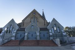 "Wagga Wagga †""St John Evangelist Anglican Church Royalty-vrije Stock Fotografie"