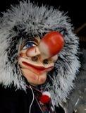 Waggis; Carnaval in Bazel 2008 Stock Fotografie