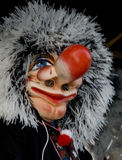 Waggis; Carnival in Basel 2008. Traditional Waggis during the Cortege Stock Photography
