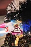 Waggis traditionelle Karnevalsschablone Lizenzfreies Stockbild