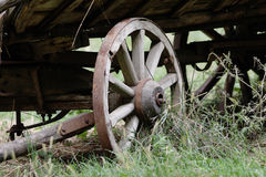Waggon wheel. Stock Photo