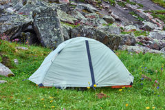 Wagi lekkiej wycieczkuje kopuła namiot Obrazy Royalty Free