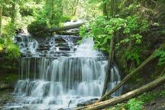 Wagner Falls Royaltyfri Bild