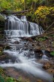 Wagner Falls Cascade Royaltyfri Fotografi