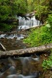 Wagner Falls, Munising, Michigan Stock Image
