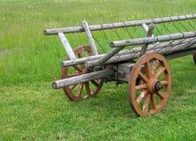 Wagon. Countryside stock photo