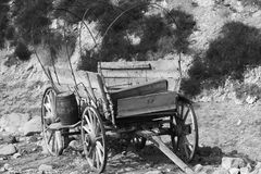 Wagon. Old western style wagon Royalty Free Stock Photo