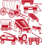 Wagon Collection Royalty Free Stock Photo