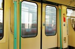 Wagon door. Royalty Free Stock Photo