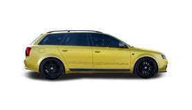 Wagon family car Royalty Free Stock Photography
