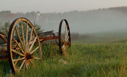 Wagon and Farm, New Hampshire Royalty Free Stock Photography