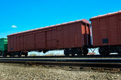 Wagon ferroviaire Images stock