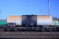 Wagon freight train Stock Photography