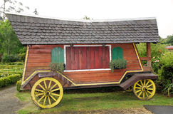 Wagon at the German Museum at Frutillar, Chile. Traditional wagon at the German Museum at Frutillar, a town in Southern Chile in the Los Lagos Region on the Stock Images