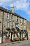 Wagon and Horses pub on St Georges Quay, Lancaster Stock Photography