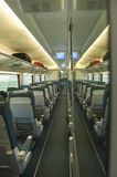 Wagon interior in a train Royalty Free Stock Photography