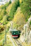 wagon kolei linowej Zdjęcia Royalty Free