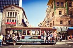 wagon kolei linowej Francisco San Zdjęcie Stock