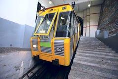 wagon kolei linowej funicolare Obraz Royalty Free