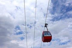 Wagon Kolei Linowej Funicular obrazy royalty free