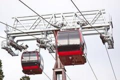 wagon kolei linowej góry tramwaj Obraz Stock