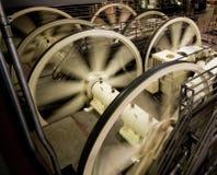 wagon kolei linowej mechanizm zdjęcie royalty free