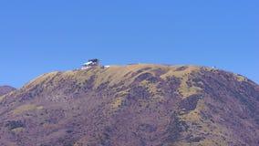 Wagon kolei linowej stacja na górze stołowej góry Obraz Stock