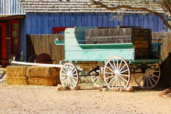 Wagon in Pioneer Living museum Royalty Free Stock Photography
