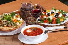 Wagon-restaurant Photo stock