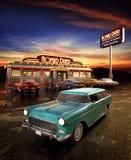 Wagon-restaurant américain Photographie stock