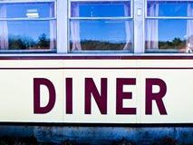 Wagon-restaurant américain image libre de droits